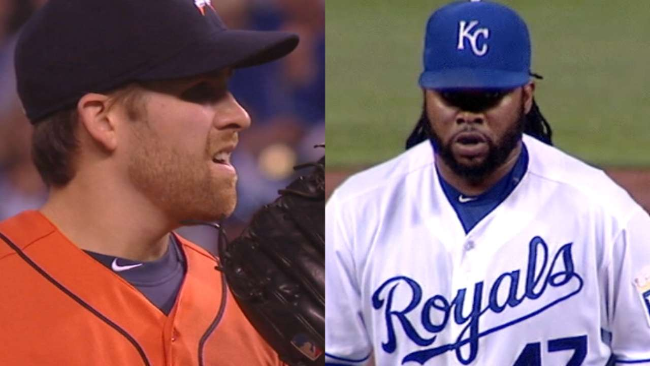 Astros and Royals set for Game 5