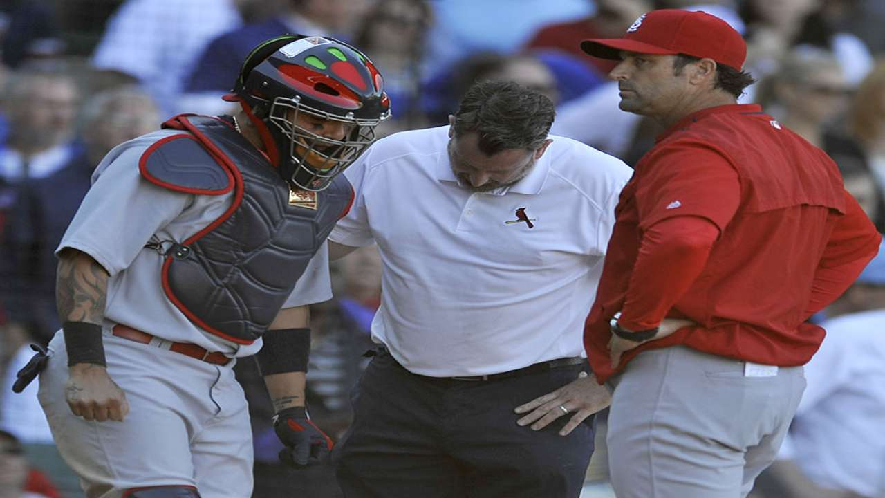Matheny on Molina's injury