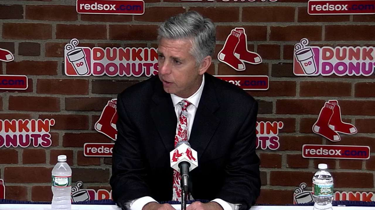 Dombrowski on Farrell's health