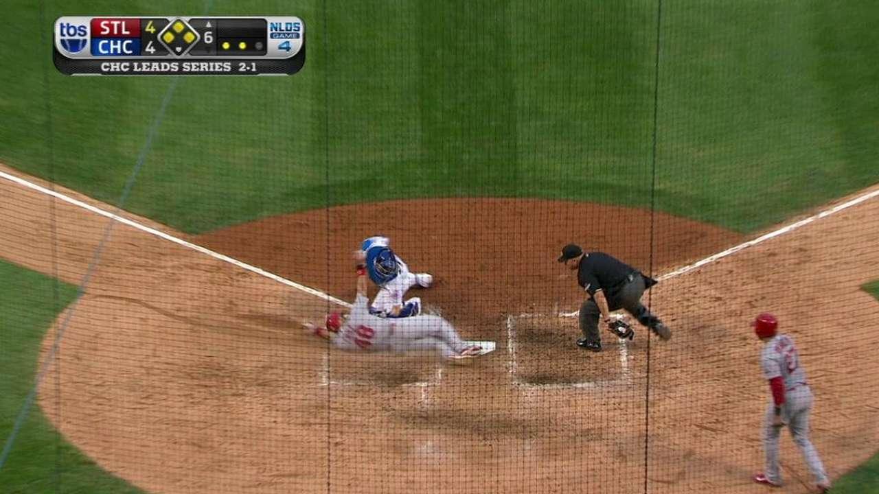 Bench bats key Cardinals' sixth inning