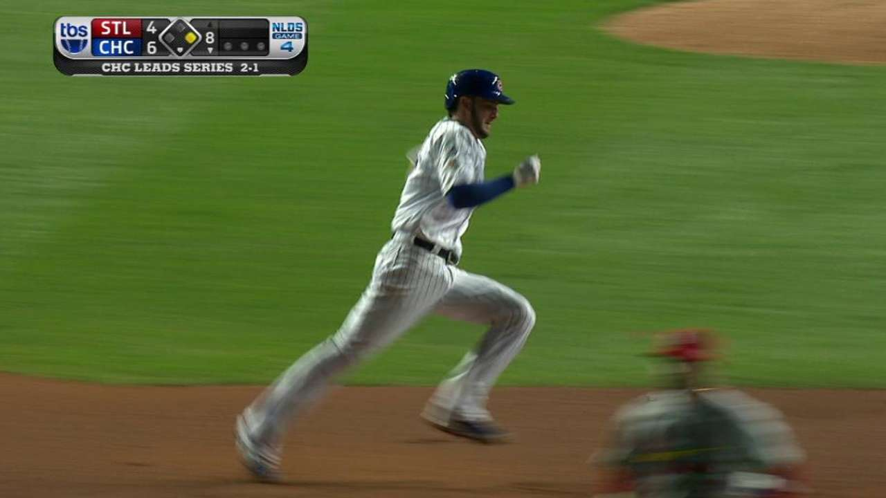 Bryant leads off 8th with triple