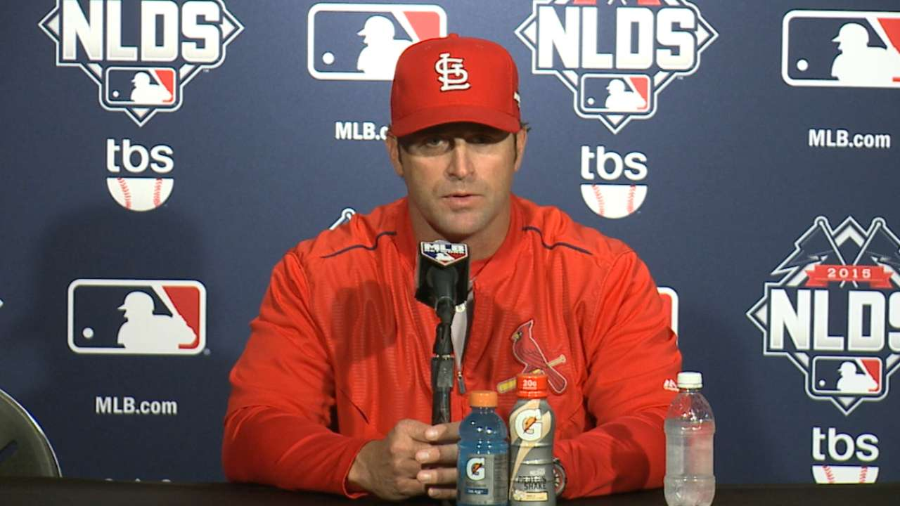 Matheny on team's heart