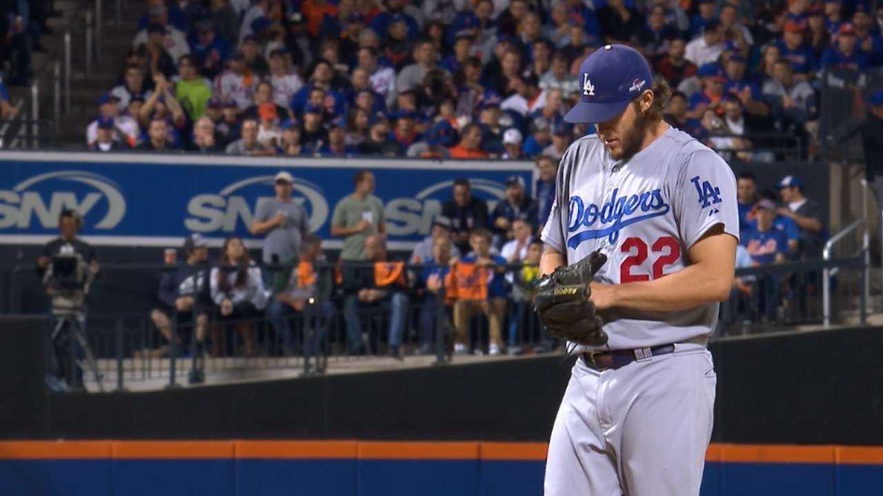 Kershaw earns win in Game 4