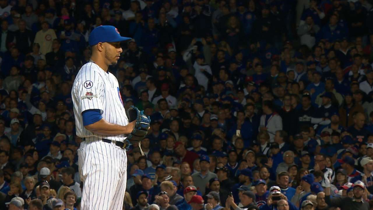 Rondon sends Cubs to NLCS