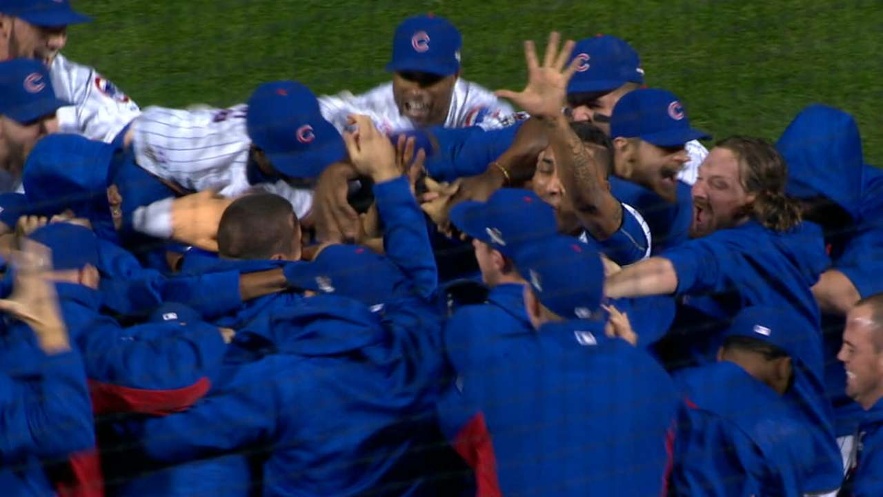 Cubs move through to NLCS