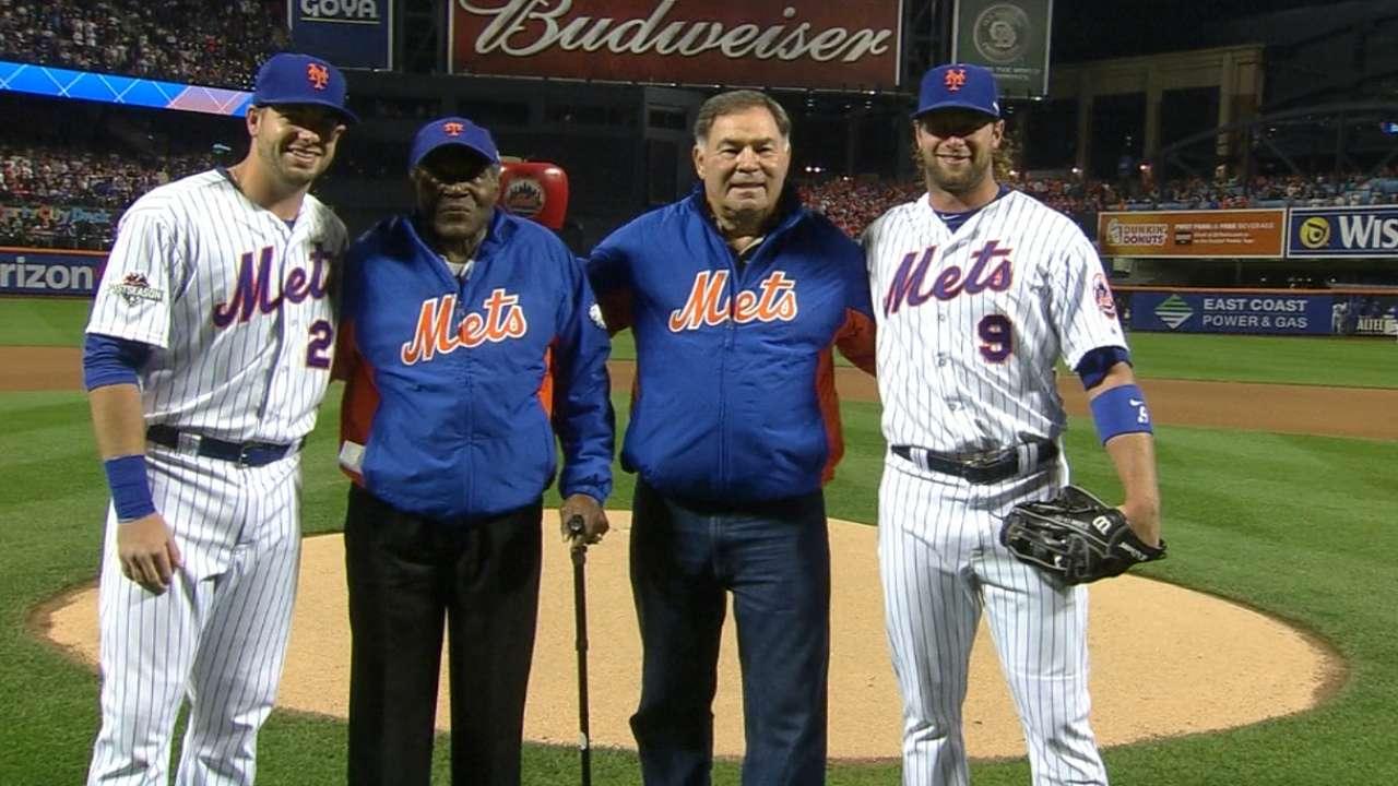 Mets welcome '69 Series heroes before Game 4