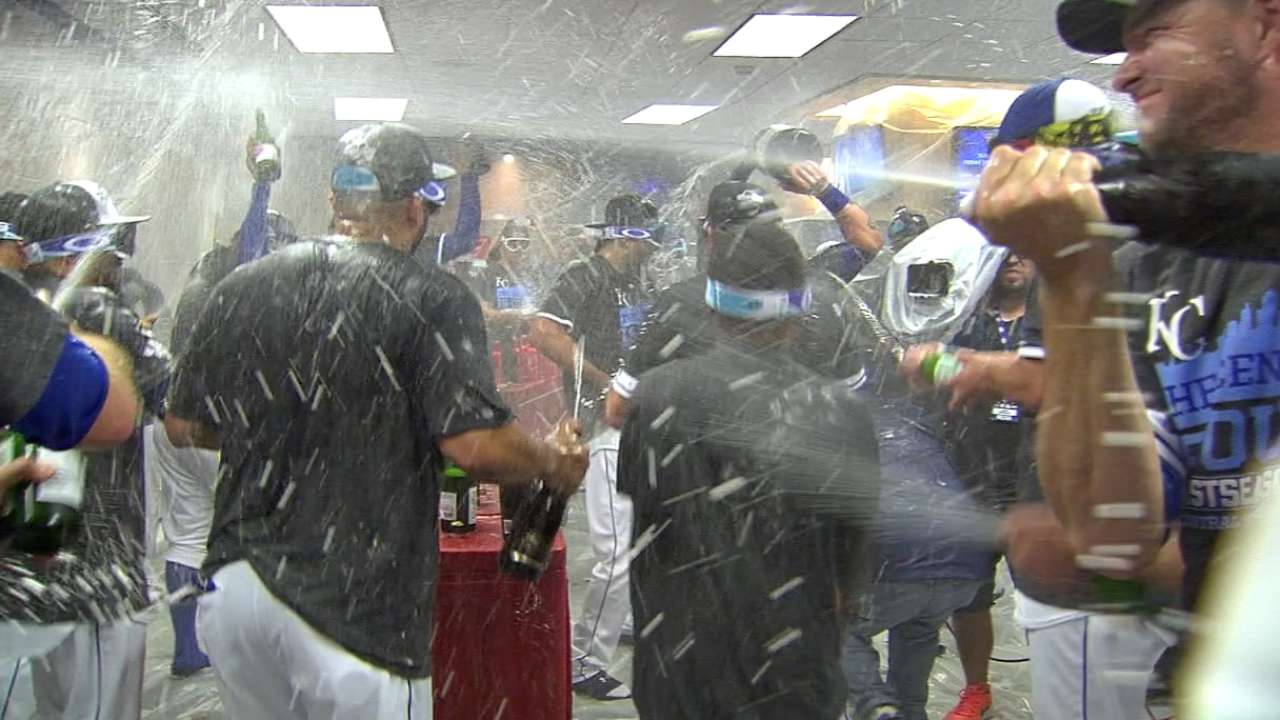 Before they were World Series bound: Royals