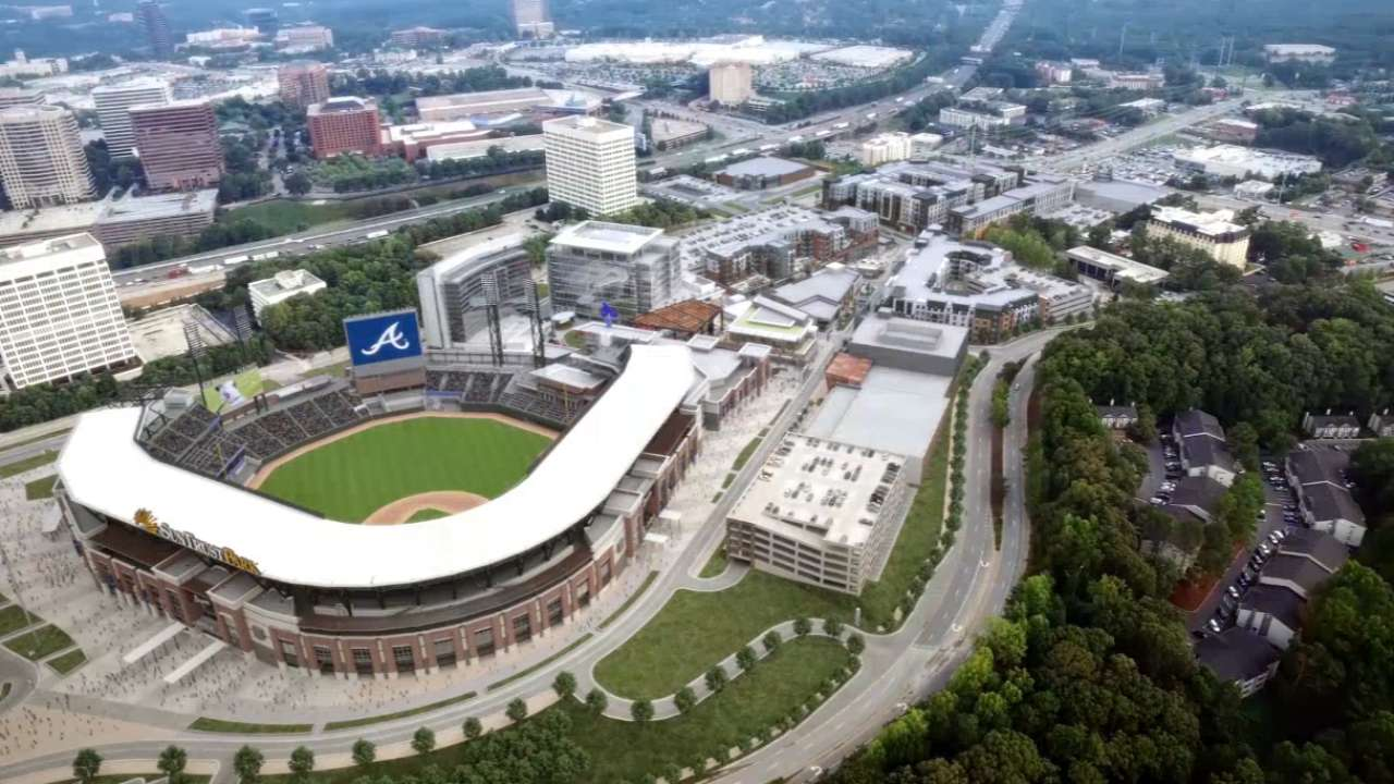 Braves announce plans for The Battery Atlanta