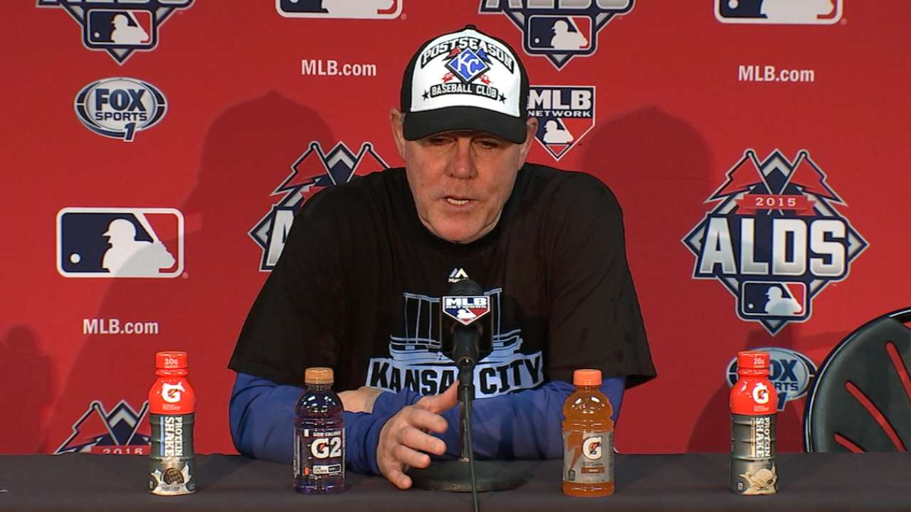 Oct. 14 Ned Yost postgame interview