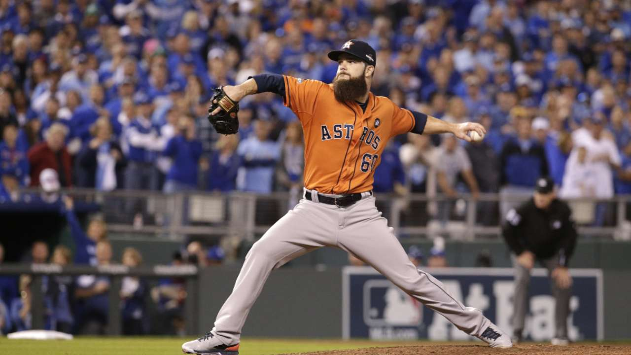 Keuchel disappointed he let down teammates