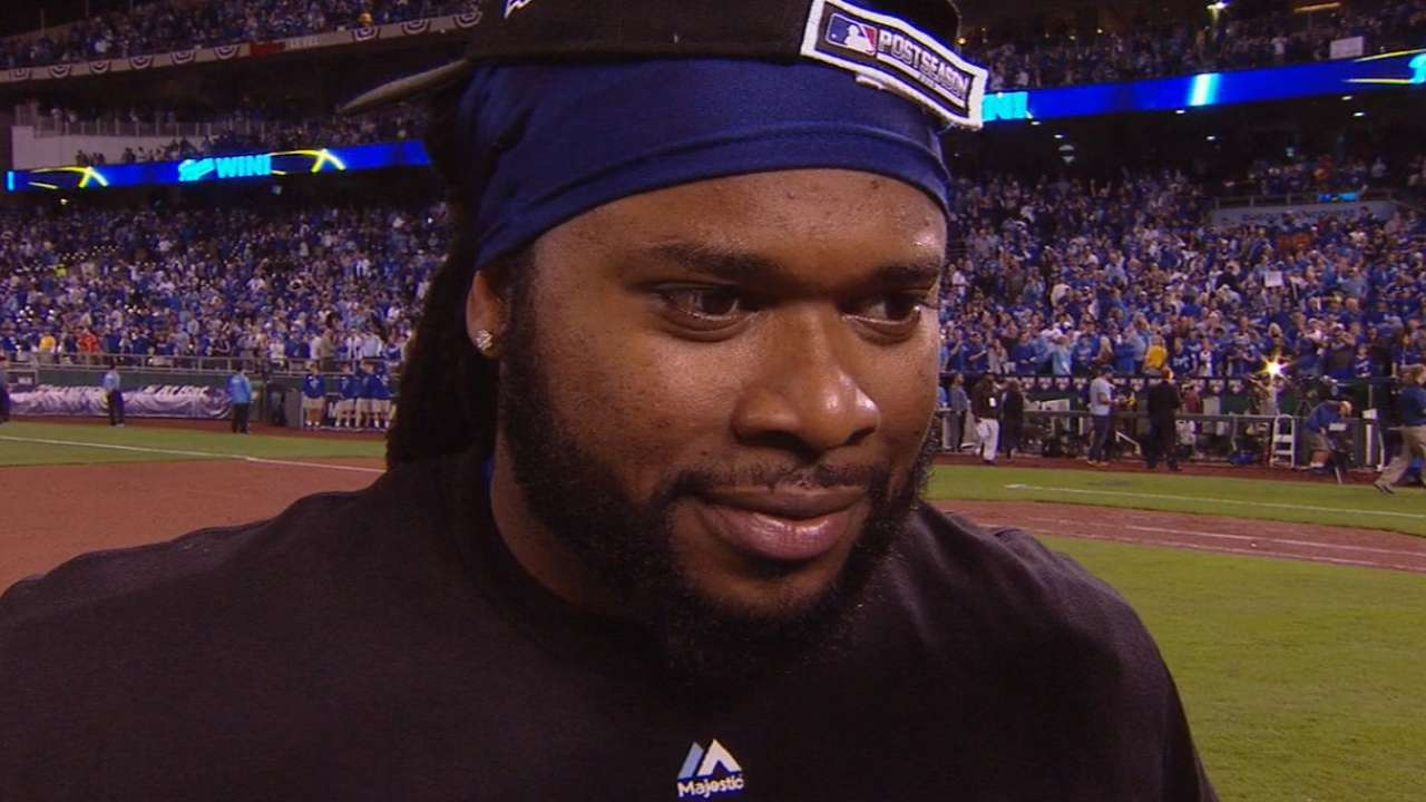 Cueto on his dazzlng performance