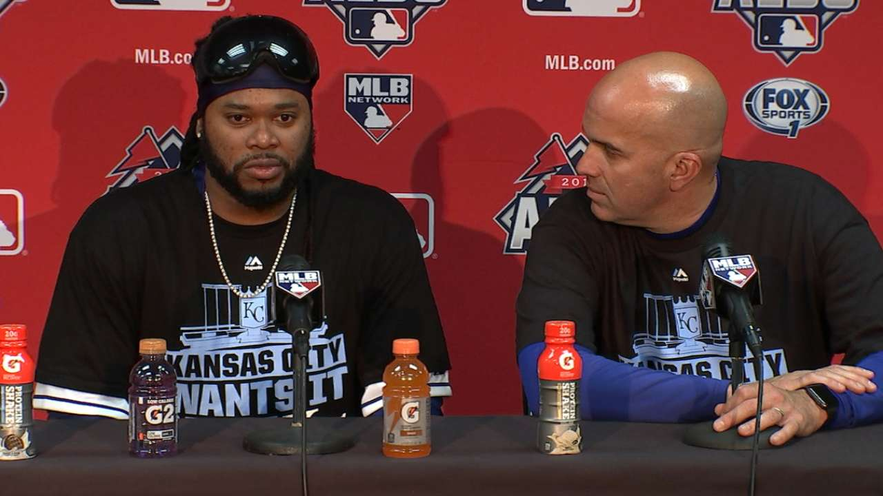 Oct. 14 Johnny Cueto postgame interview