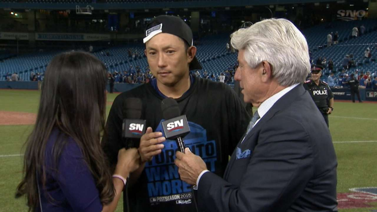 Kawasaki excited for ALCS
