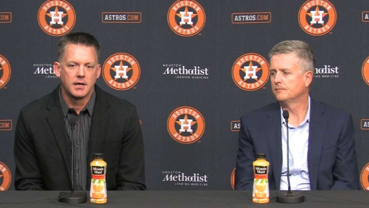 Astros figure to be active as Hot Stove heats up