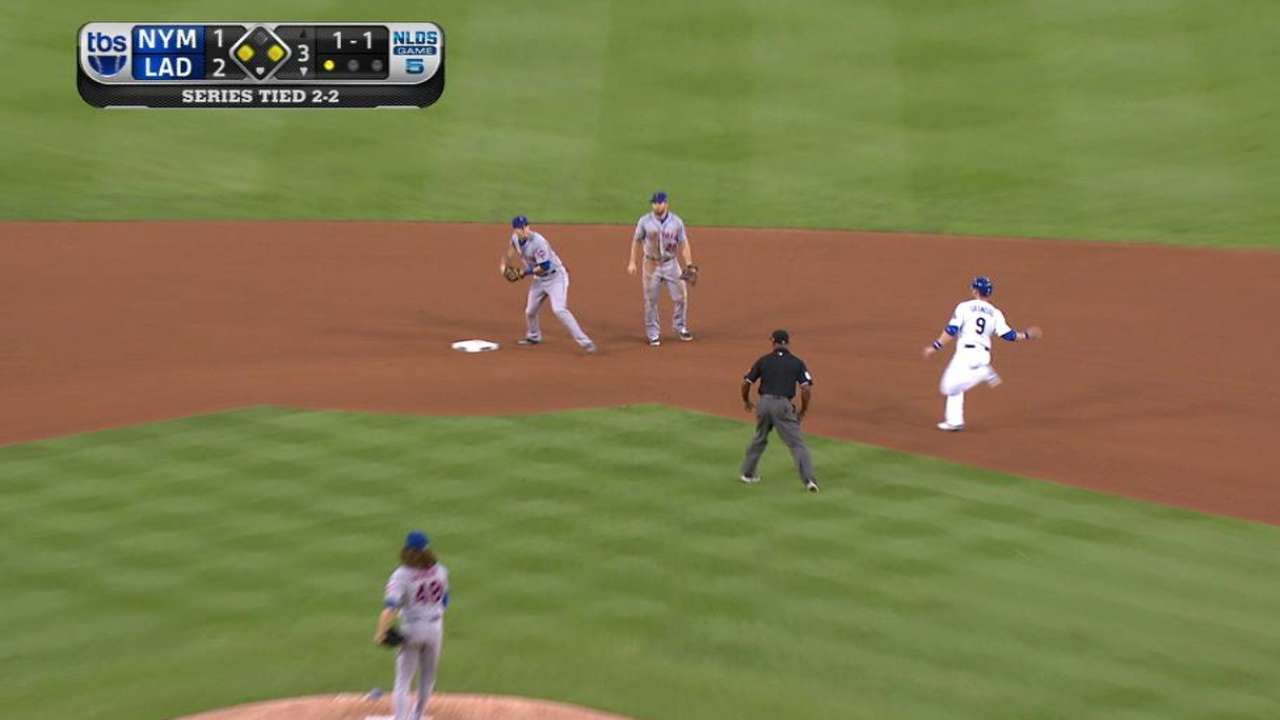 deGrom escapes the 3rd