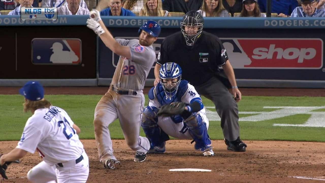 Mets superan a Dodgers y avanzan a la SCLN vs. Cubs