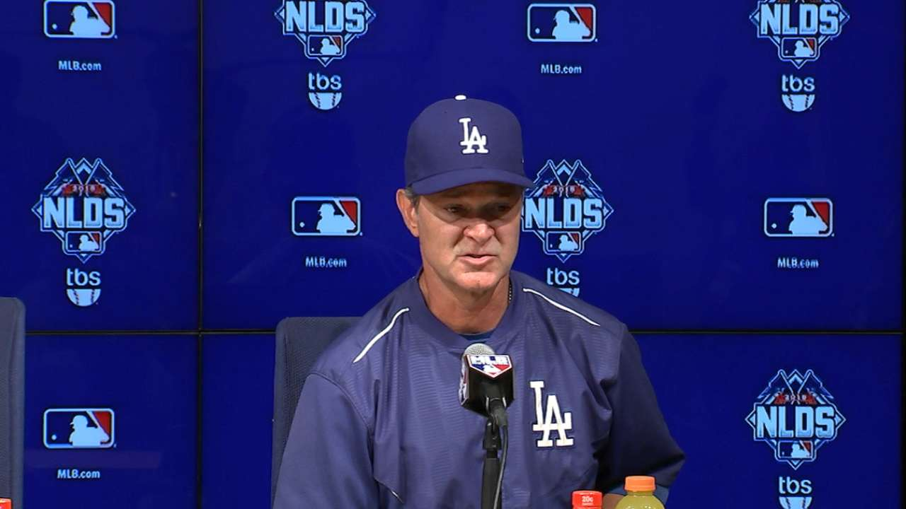 Mattingly on Game 5 loss to Mets