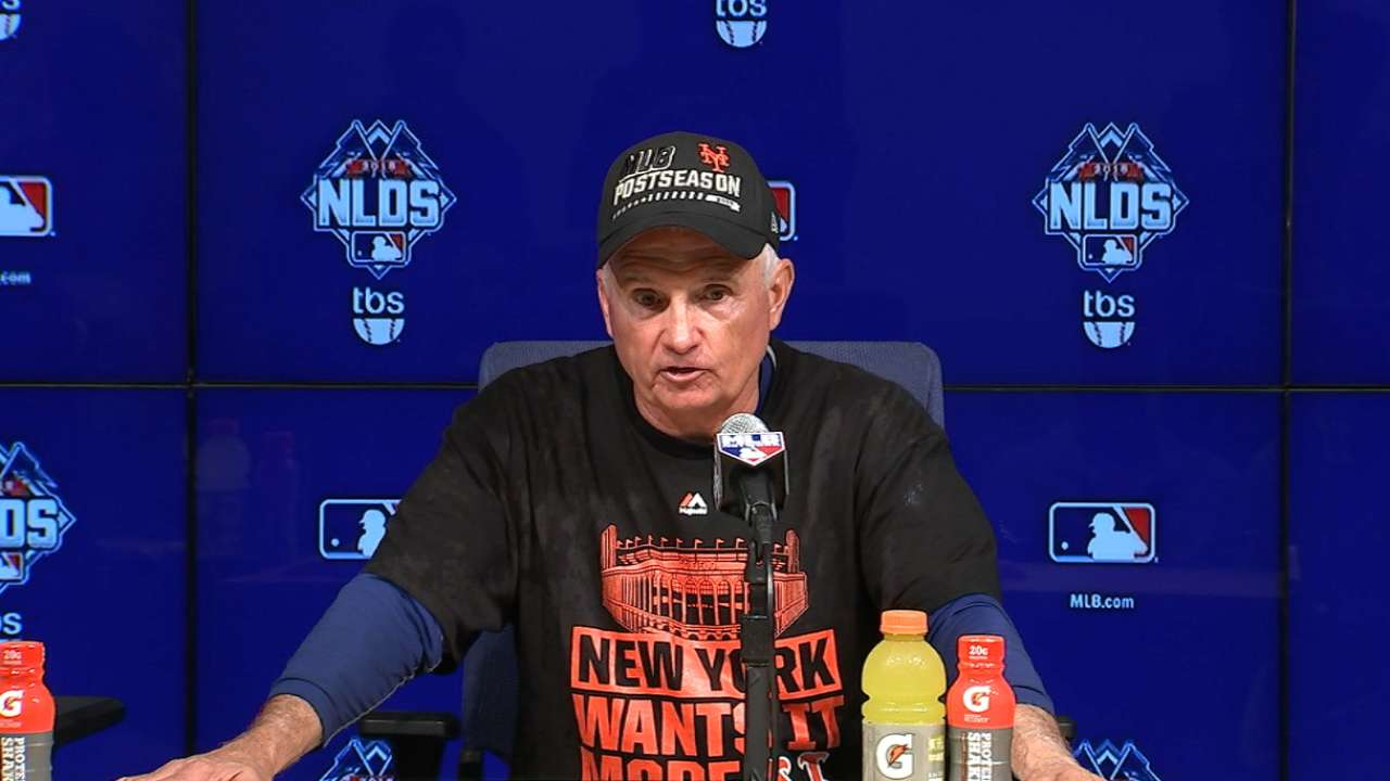 Collins on advancing to NLCS