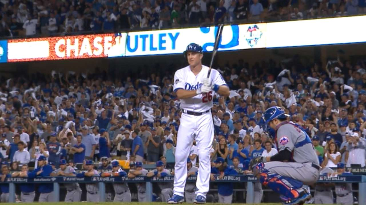 Utley returns as pinch-hitter in Game 5 loss