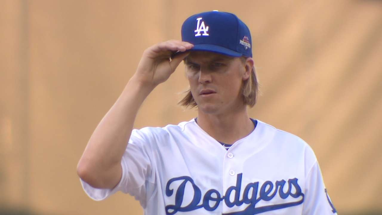 Greinke's nine strikeouts