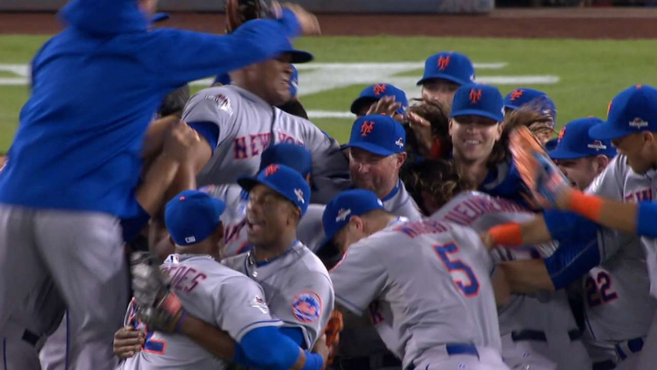 Mets prevail in memorable LDS