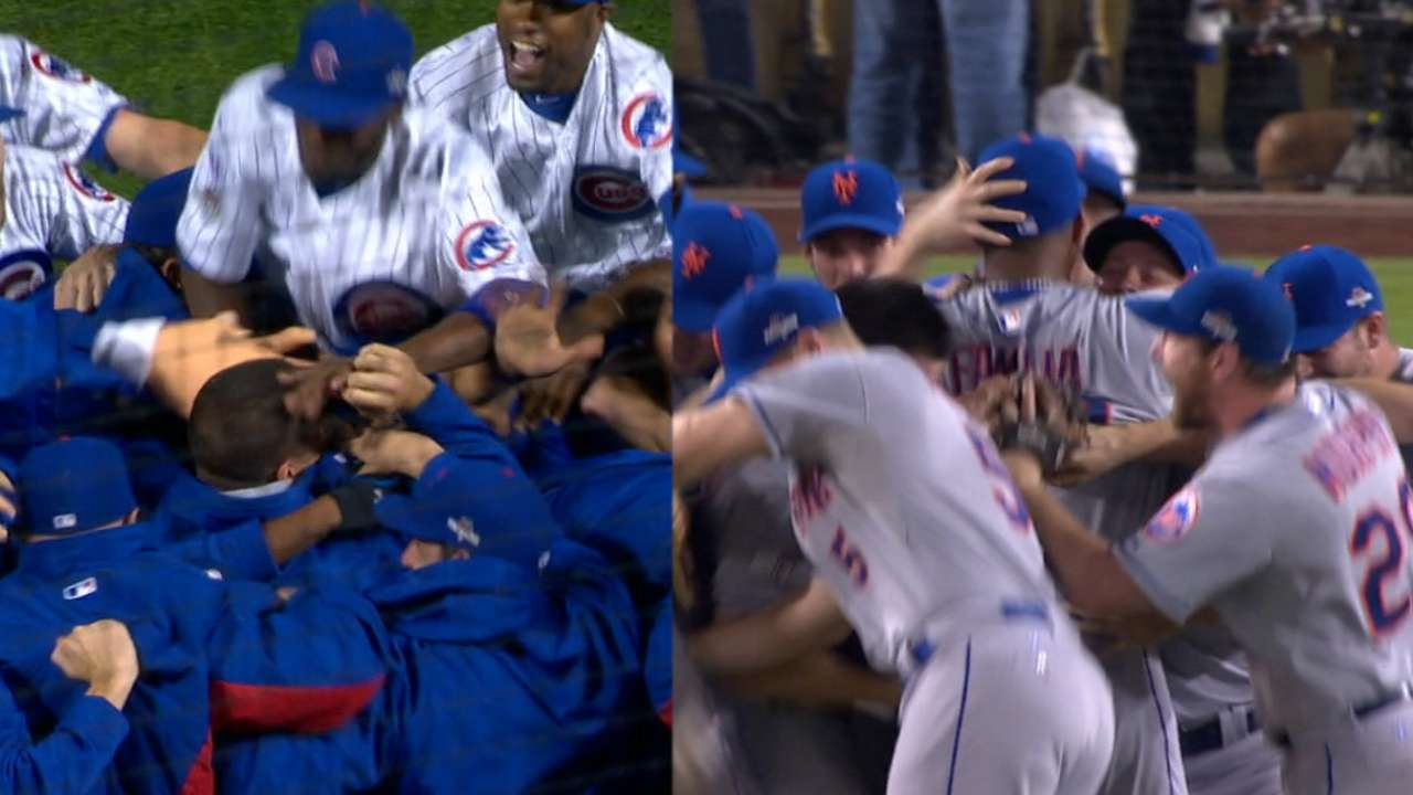 Cubs, Mets' path to NLCS