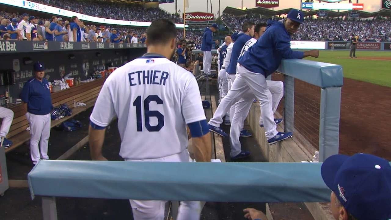 Mattingly says Ethier's ire at umps, not him