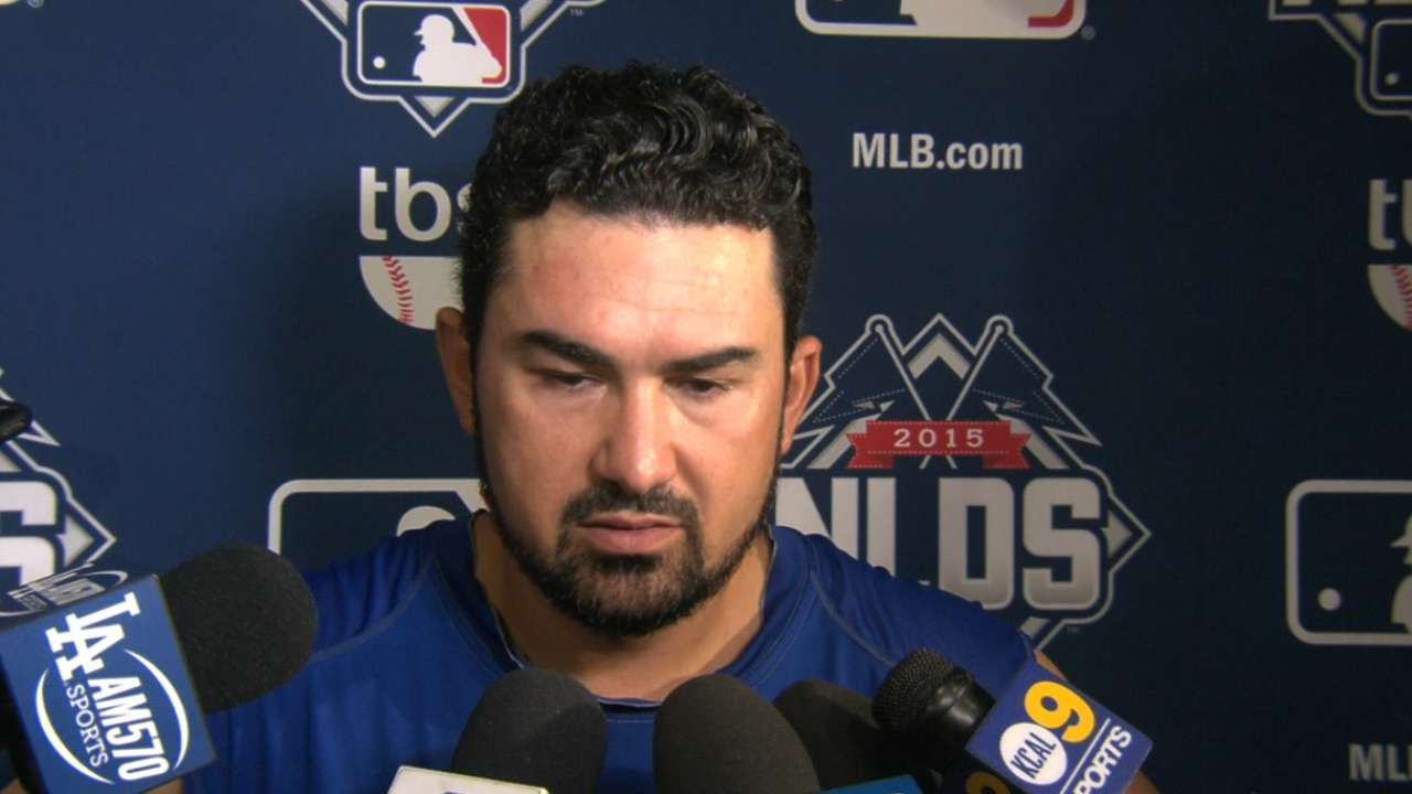 Gonzalez on NLDS Game 5 loss
