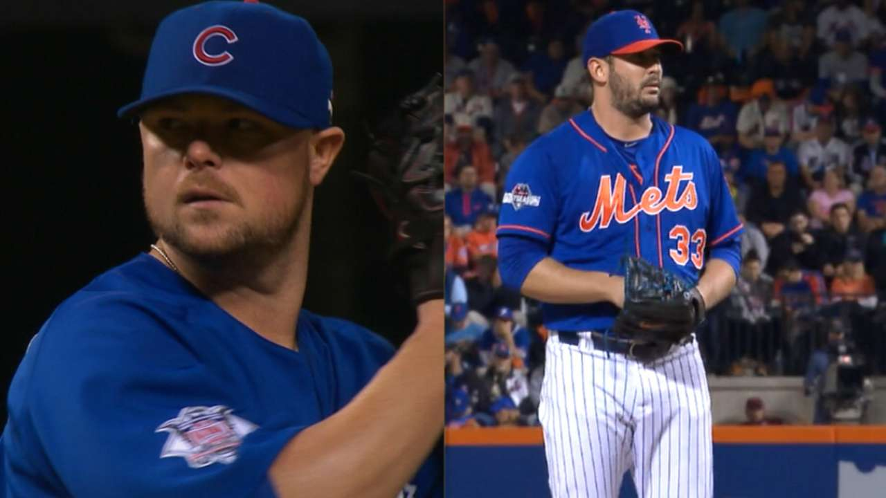 Lester, Harvey to duel