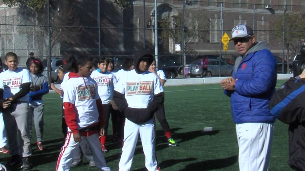 Play Ball event in N.Y. brings fun to local kids
