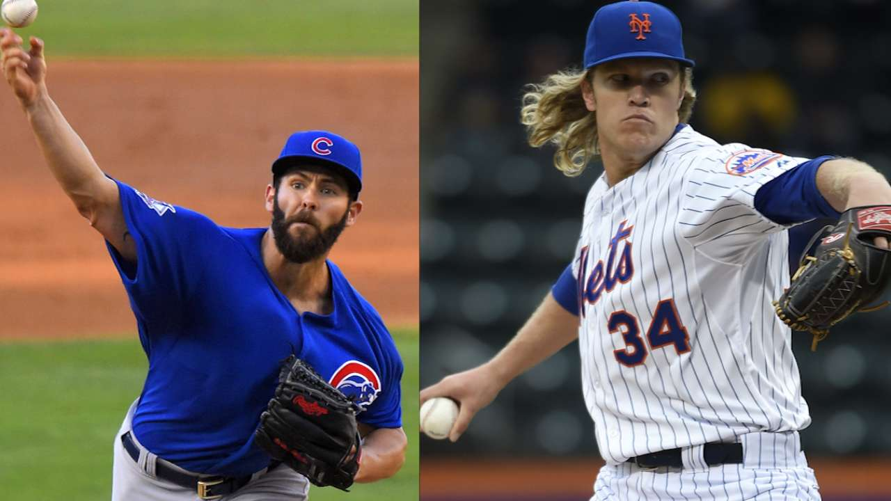 Tale of the Tape: Arrieta vs. Syndergaard