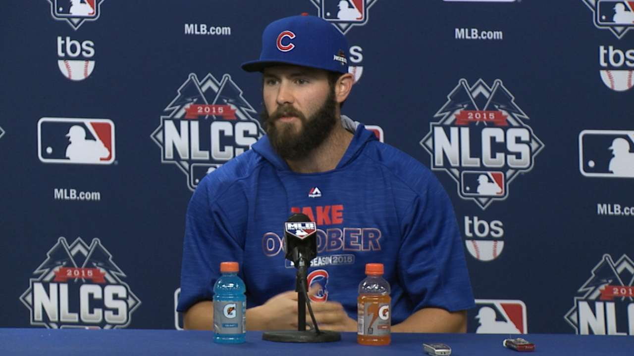 Arrieta rested, confident heading into Game 2