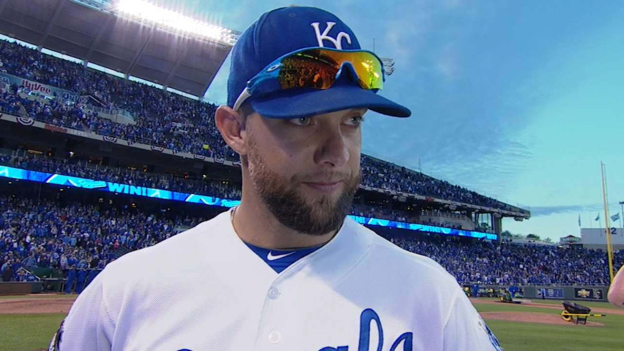 Gordon, Hochevar reflect on KC's baseball revival