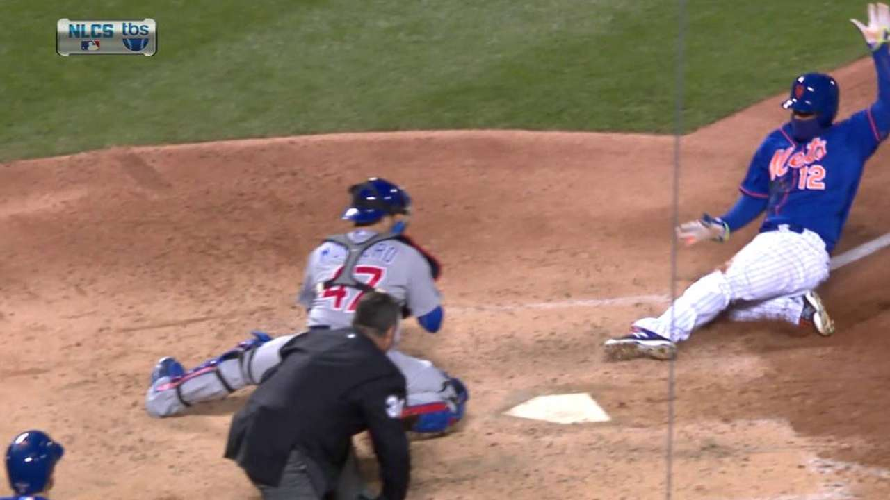 Montero explains position at plate on sac fly