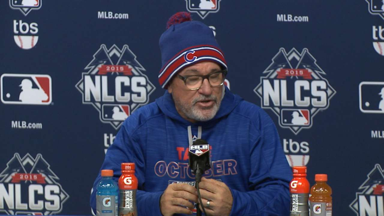 Oct. 17 Joe Maddon postgame interview