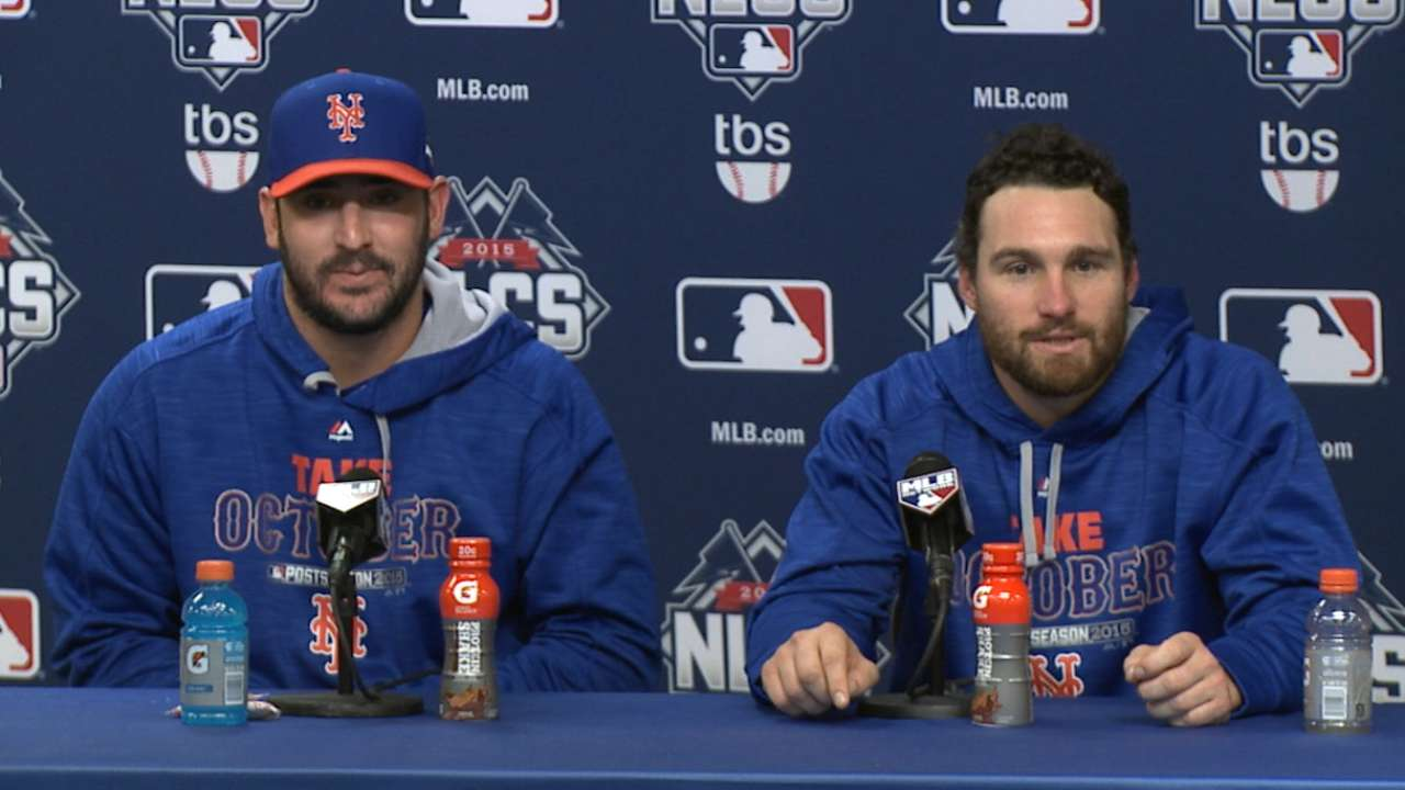 Oct. 17 Matt Harvey, Daniel Murphy postgame interview