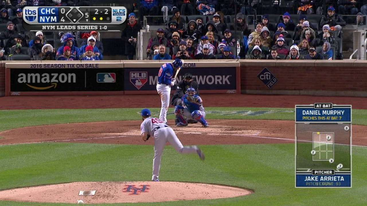 Arrieta strikes out Murphy
