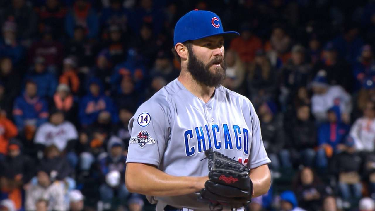 Arrieta unable to come to Cubs' rescue