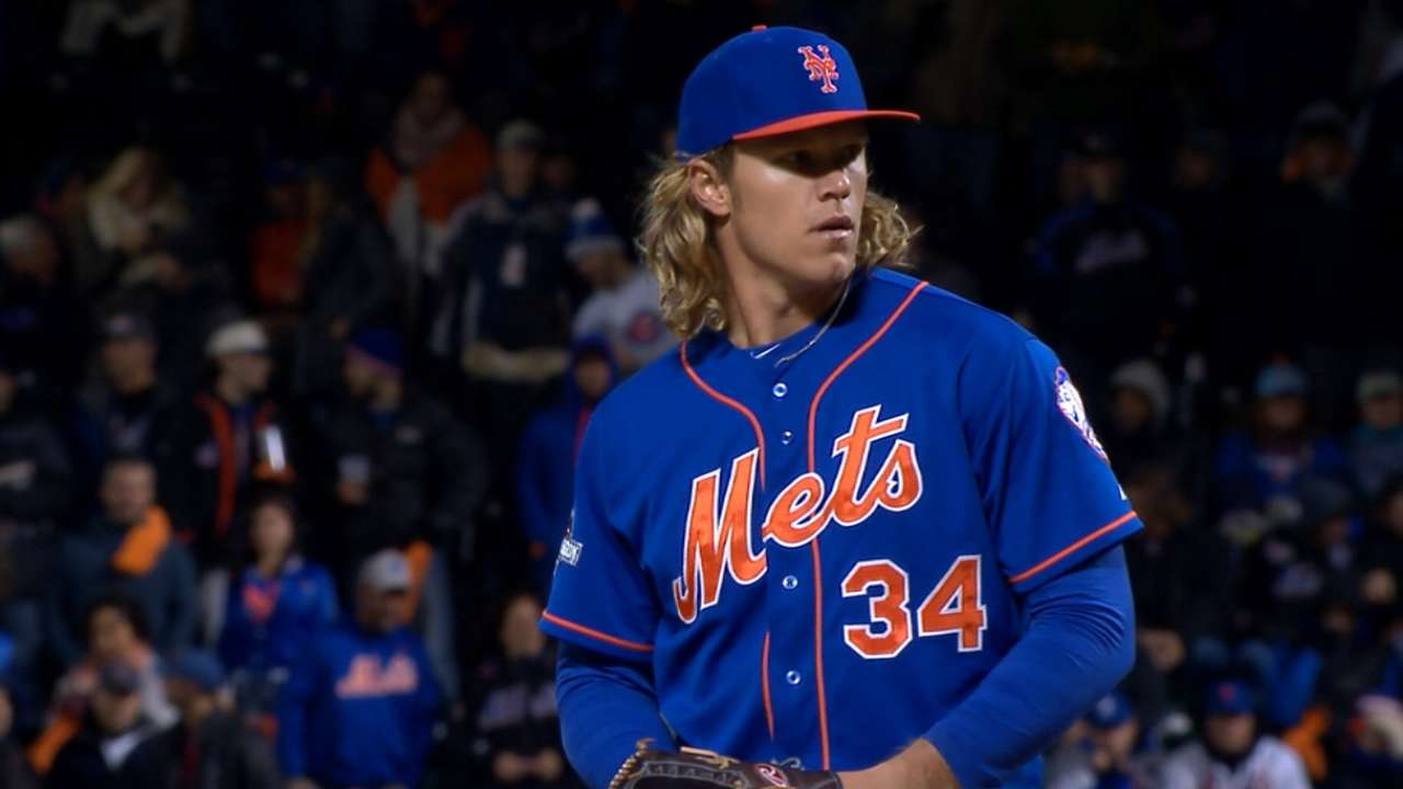 Young Syndergaard remains fearless in postseason