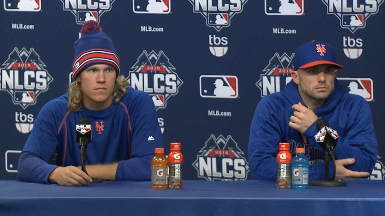 Oct. 18 David Wright, Noah Syndergaard postgame interview