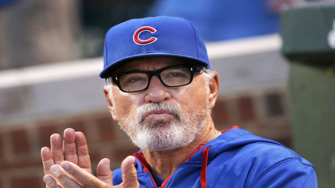 Maddon on focus, returning home