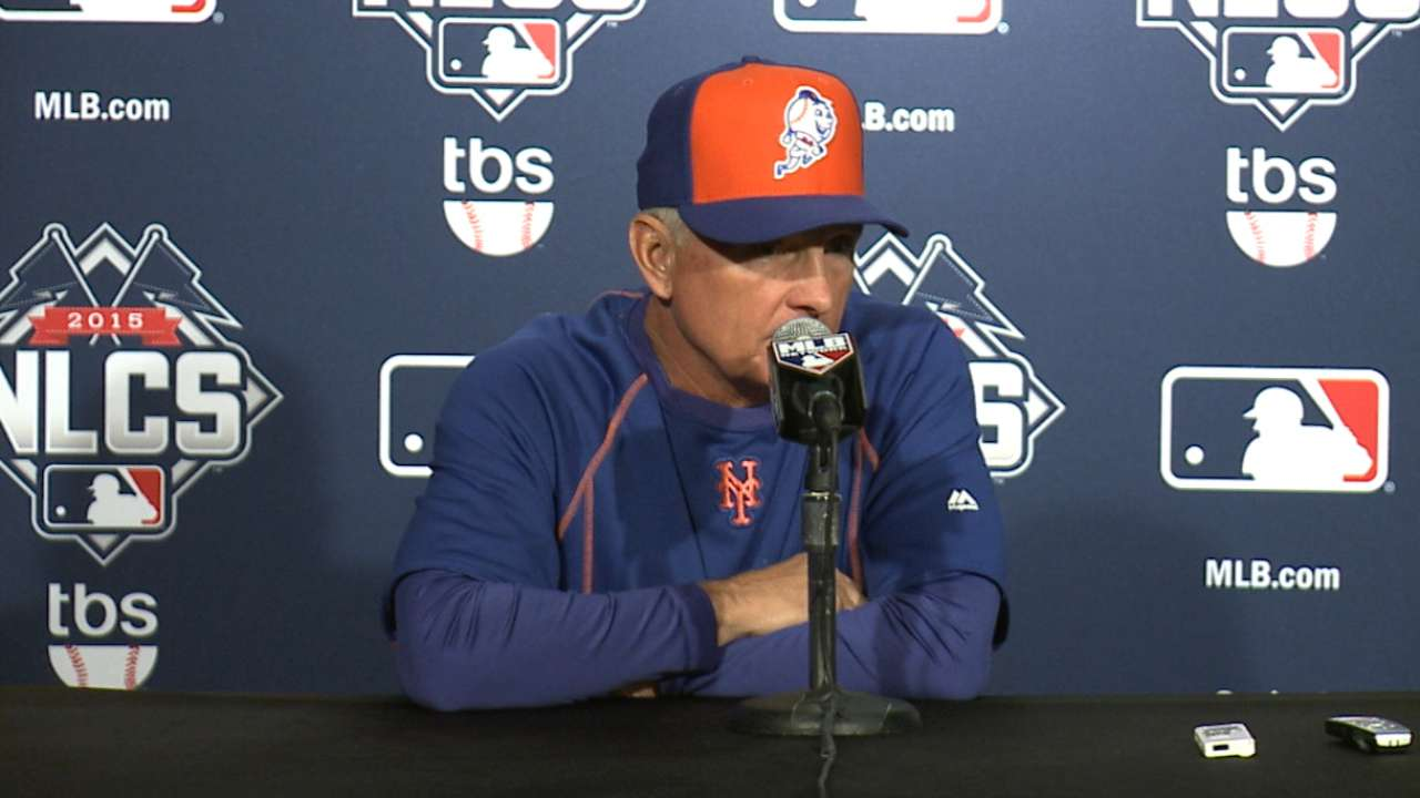 Oct. 19 Terry Collins workout day interview