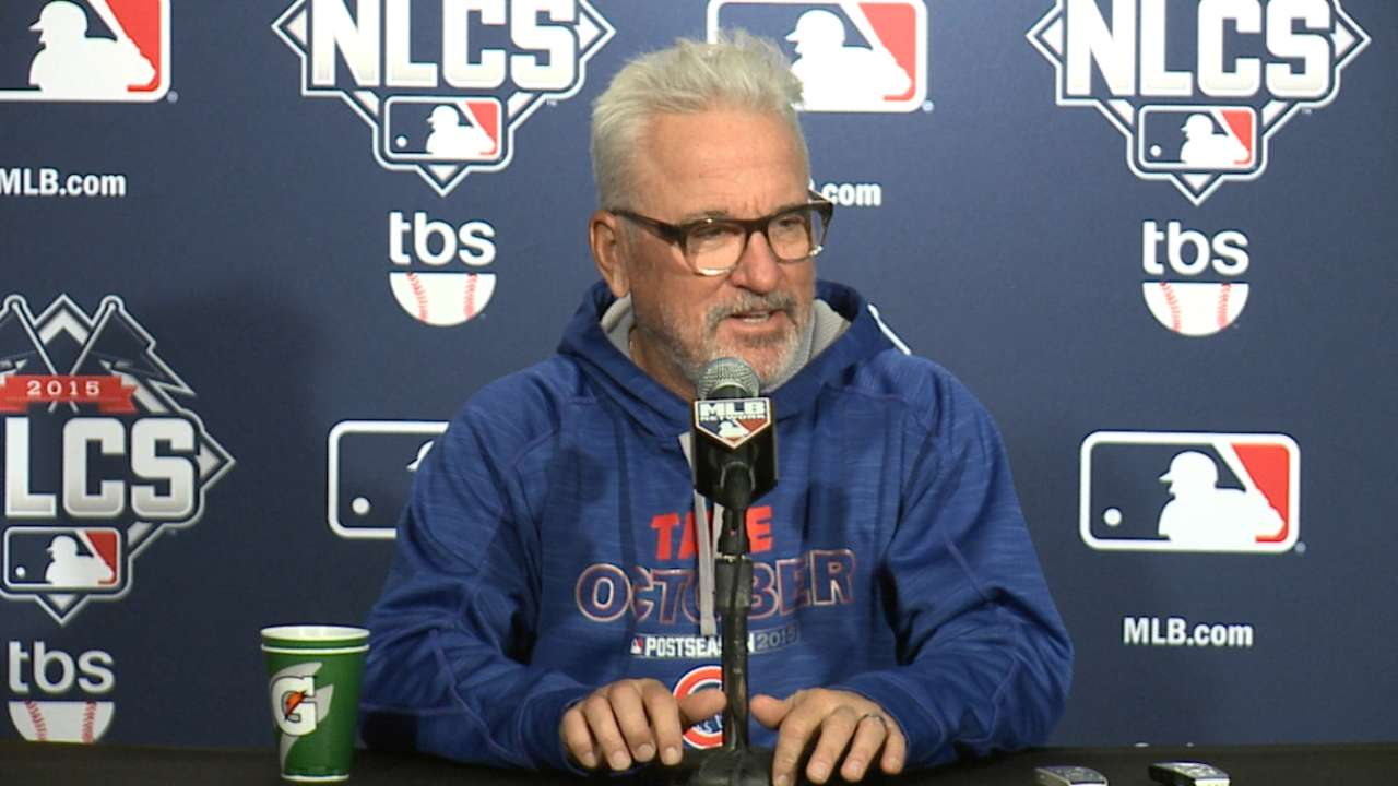 Maddon, Cubs look to channel Rocky Balboa