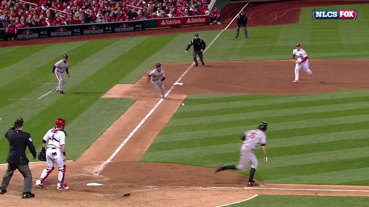 Zito's bunt pads the lead