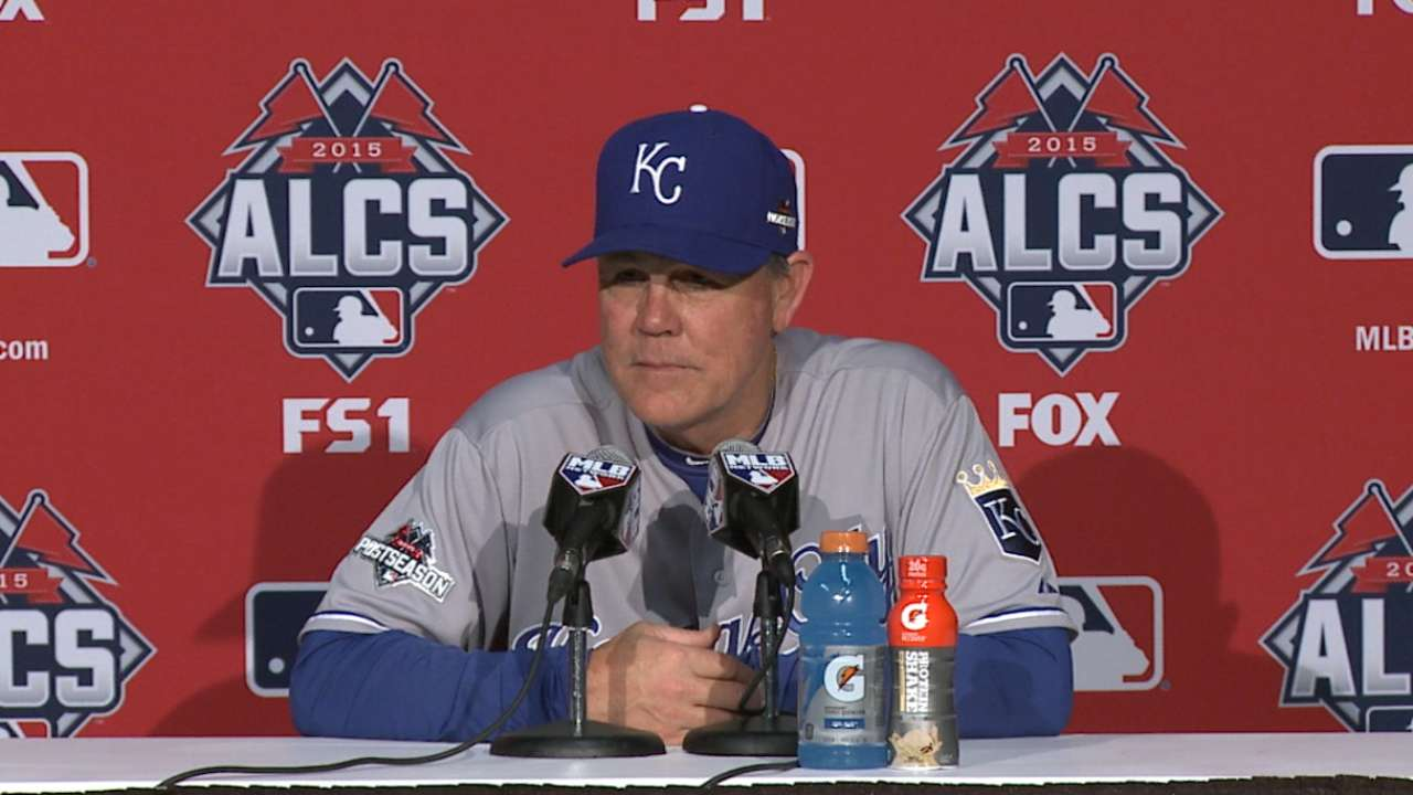 Oct. 19 Ned Yost postgame interview