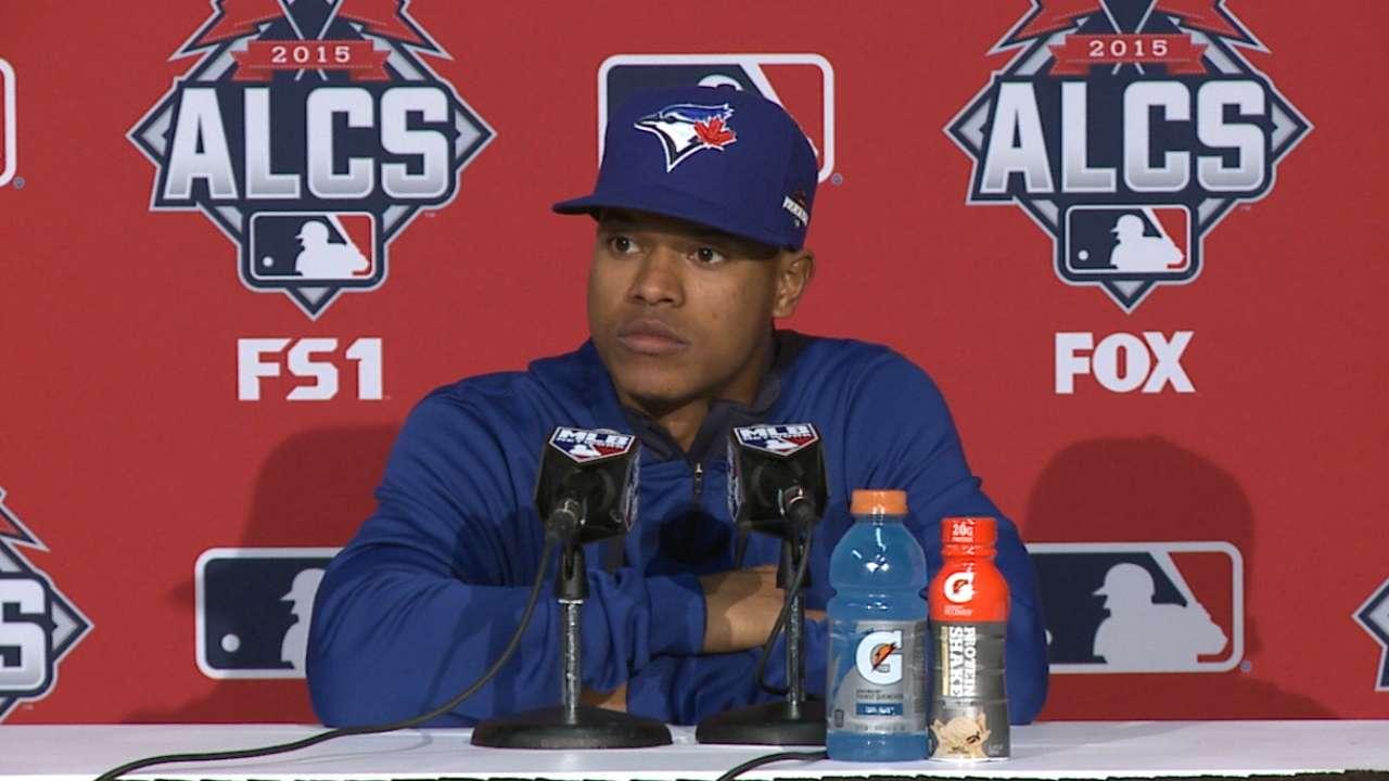 Stroman praises Blue Jays' bats