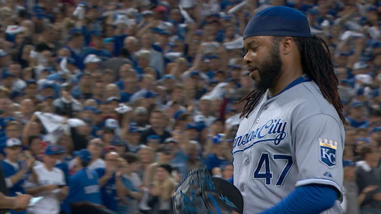 After DS gem, Cueto falters in LCS debut