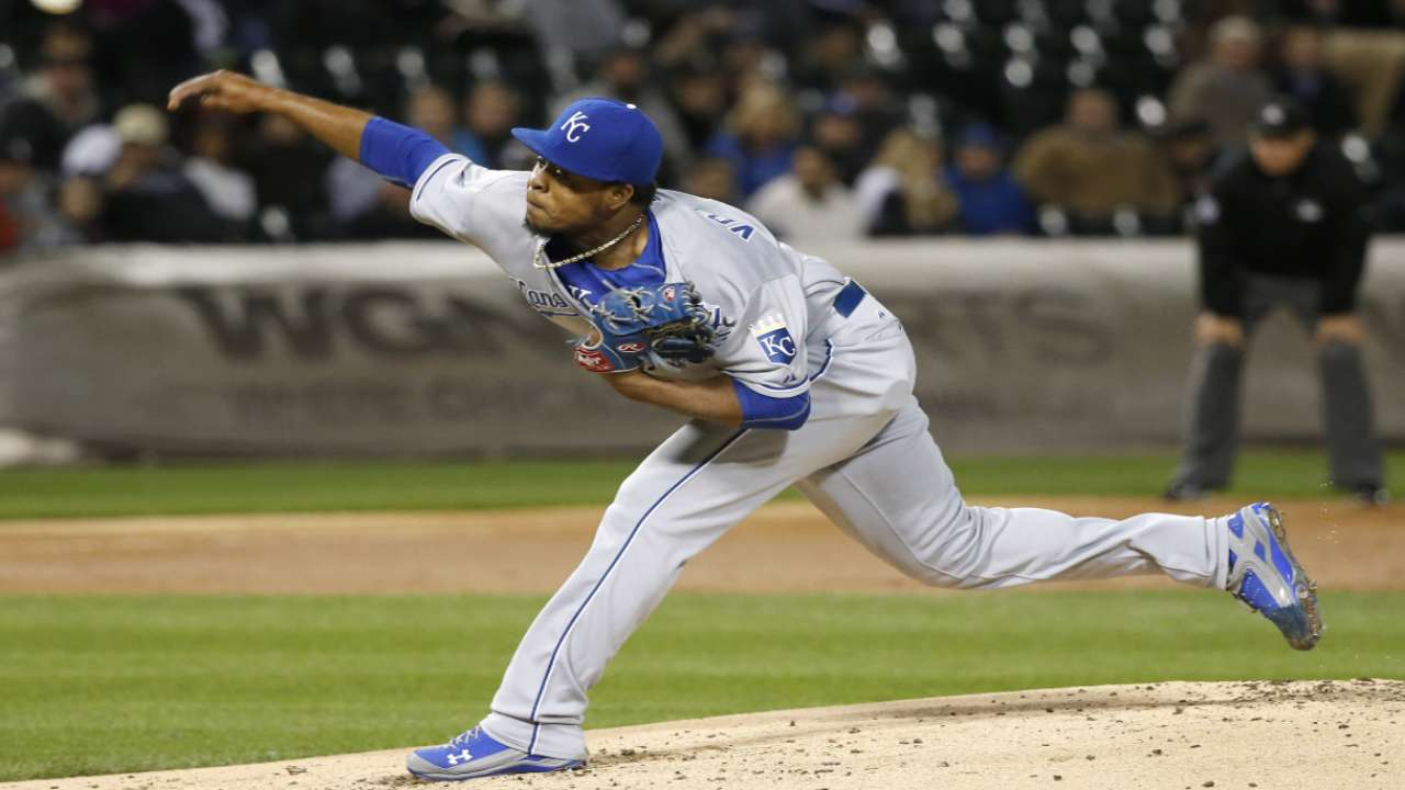 Volquez looks to punch KC's ticket to Series