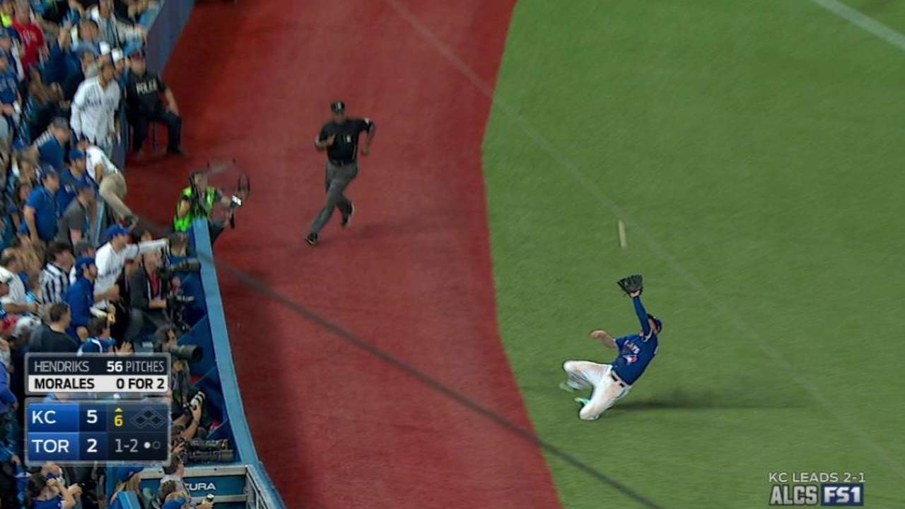 Donaldson's sliding catch