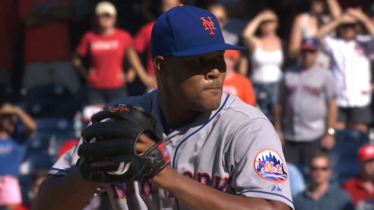 Familia garnering consideration as top reliever